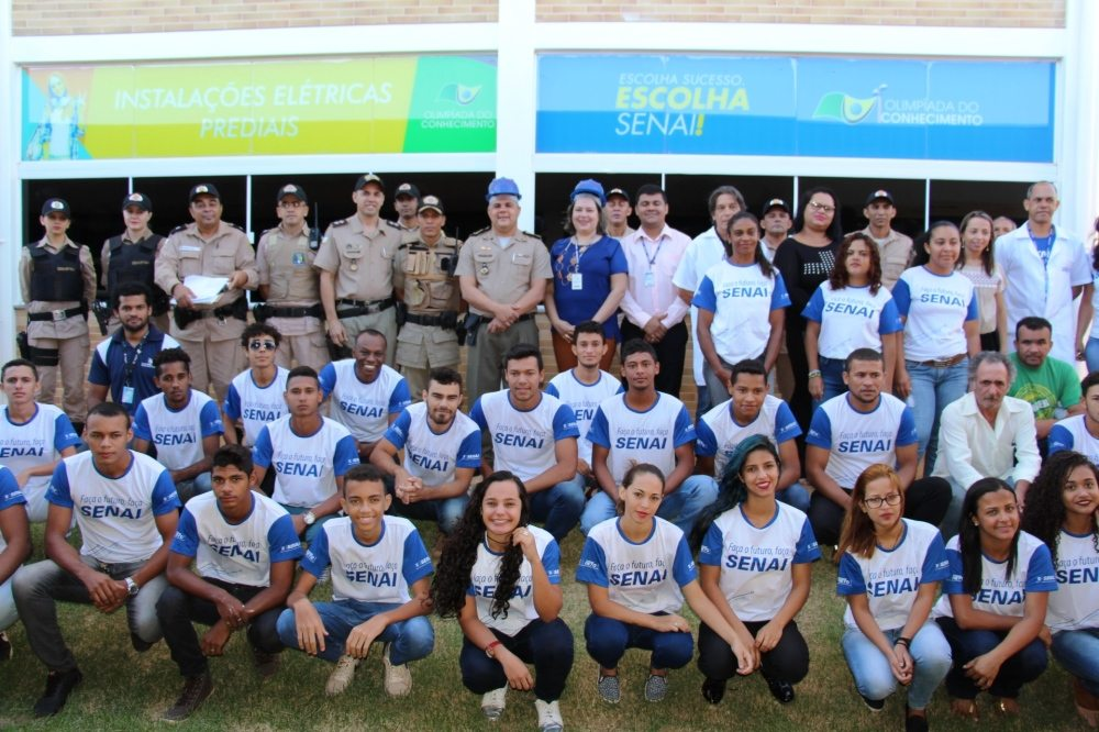 PM em parceria com Senai inicia aulas de projeto social em Palmas