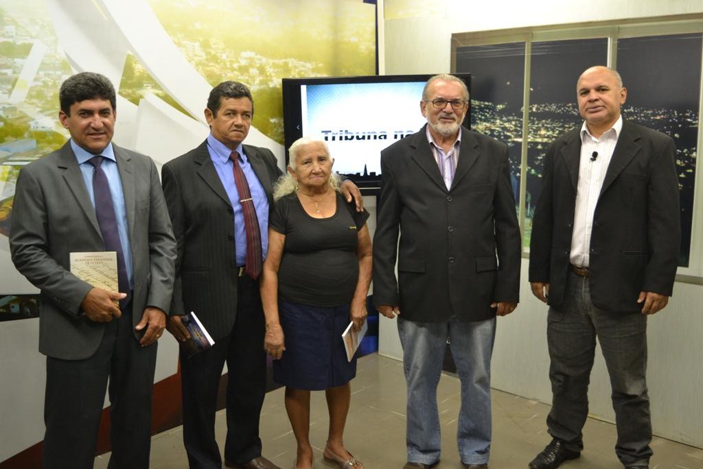 Membros da ALP participam de programa da TV reforçando convite para Sexta Cultural
