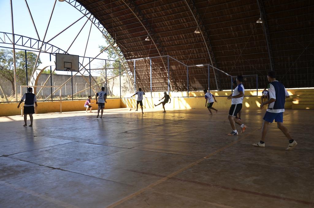 Socioeducandos participam de campeonato de futsal
