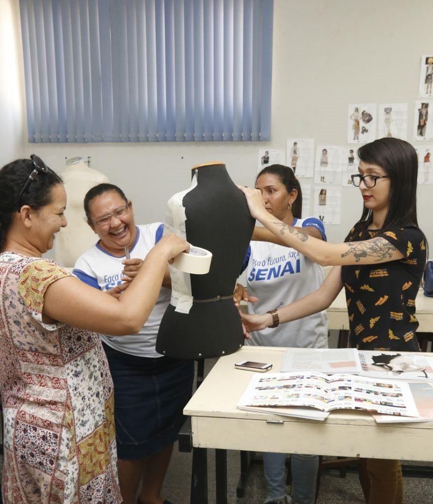 SENAI e SEBRAE iniciam 7º ciclo do projeto Inova Moda em Araguaína