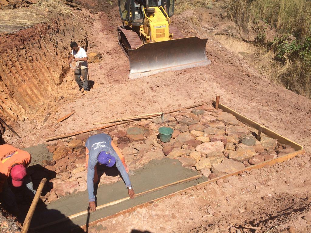 Governo repara erosão na TO-255 entre Monte do Carmo e Ponte Alta