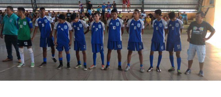 Time Sub 17 da Escola Castelo Branco é Campeã Municipal de Futsal em Dois Irmãos