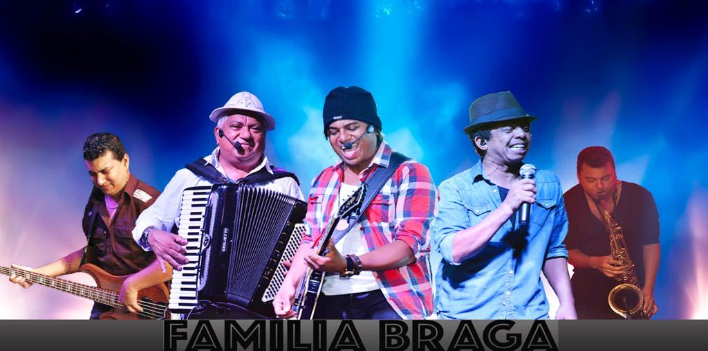 Família Braga se apresenta no Rio de Janeiro no próximo fim de semana
