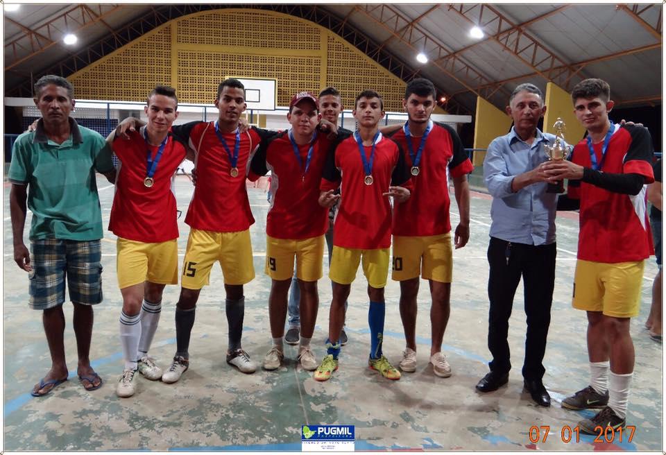 Governo Municipal de Pugmil finaliza competição de futsal promovido pela Coordenação de Esporte
