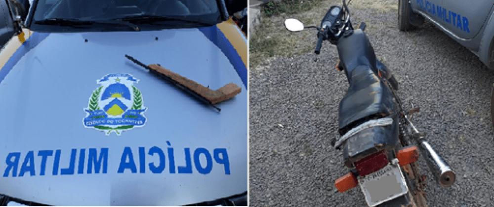 PM detém homem com arma de fogo na TO-336 próximo a Colméia
