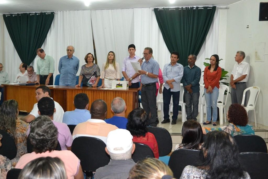 Com foco na Convenção Municipal em setembro, PMDB de Paraíso TO se reúne nesta segunda, 17