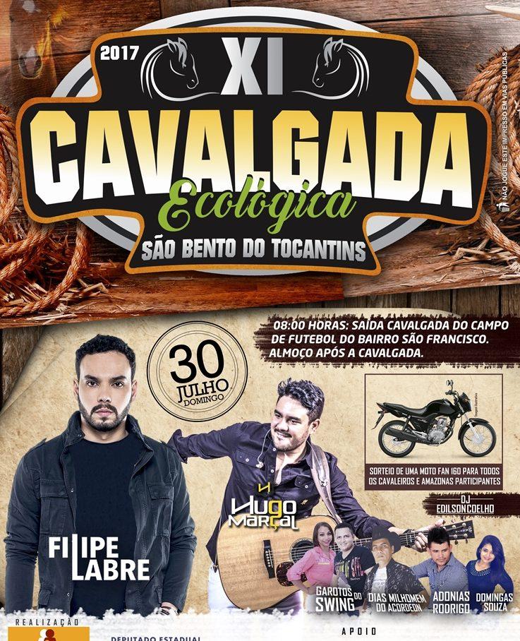 XI Cavalgada Ecológica de São Bento Tocantins