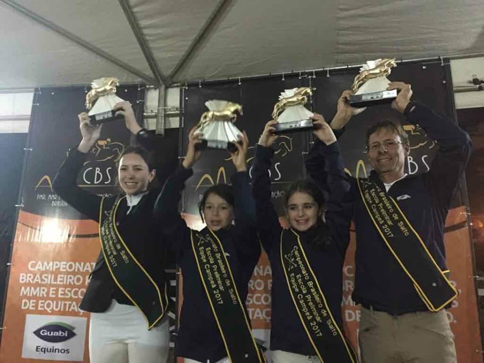 Alunos da SHC são campeões no Campeonato Brasileiro, em Brasília