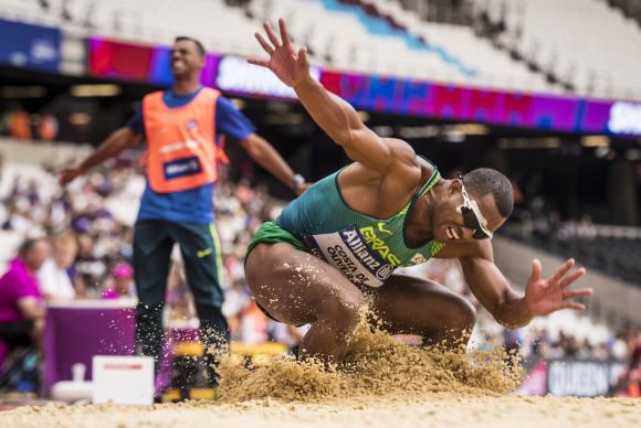 Brasil ganha quinta medalha no Mundial de Atletismo Paralímpico, em Londres