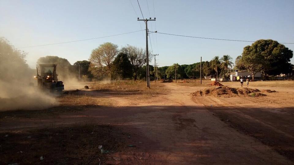Prefeitura de Lagoa da Confusão realiza força tarefa na aldeia Santa Isabel