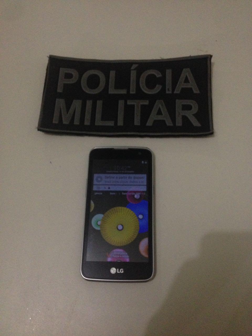 Polícia Militar prende individuo por furto de celular em Dois Irmãos