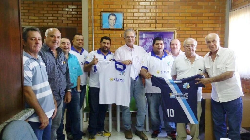 Coapa apoiará equipe de Pedro Afonso que vai disputar o principal torneio de futsal do Tocantins