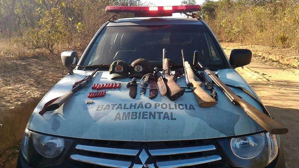 Polícia apreende 14 armas de fogo em um único dia no Tocantins