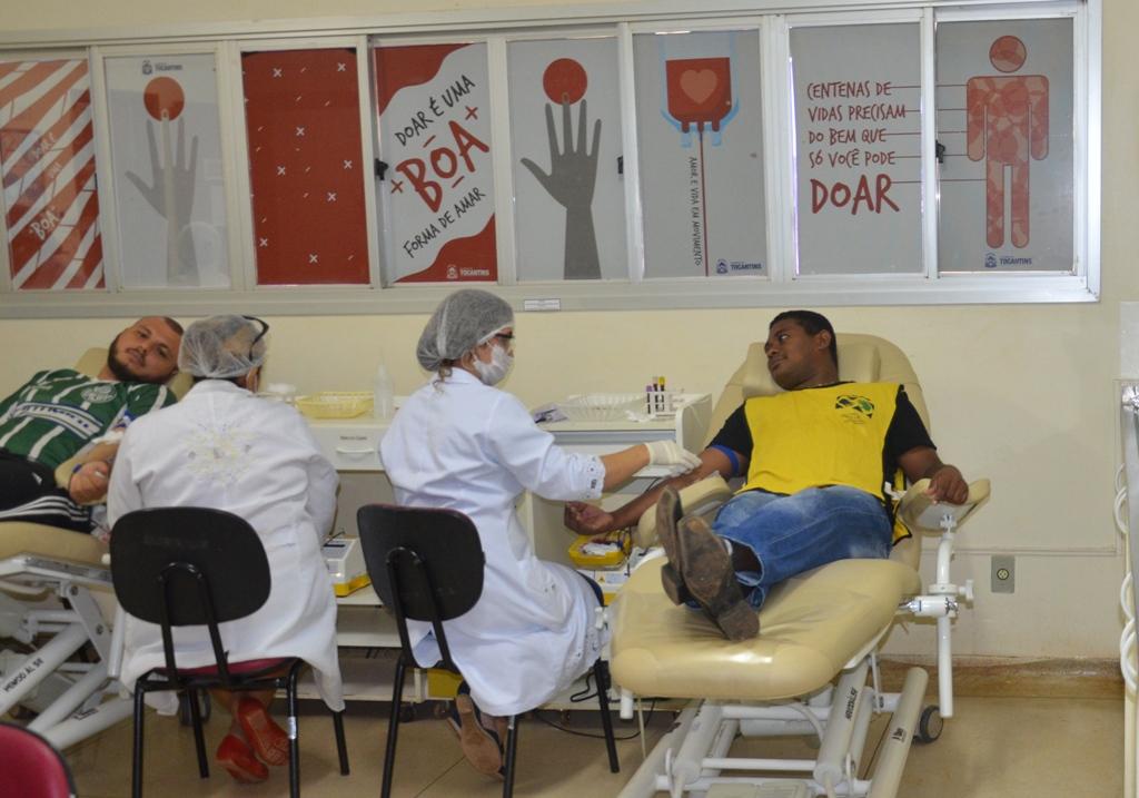Hemorrede recebe doações de sangue em horário diferenciado neste feriado