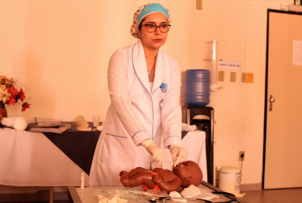 Hospital Dom Orione capacita equipe assistencial sobre os cuidados com o recém-nascido de baixo peso