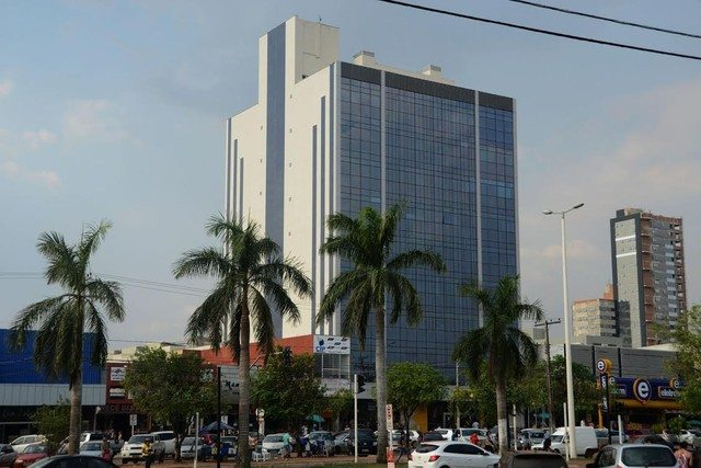 Suspensão de atividades do prédio da Prefeitura de Palmas da JK