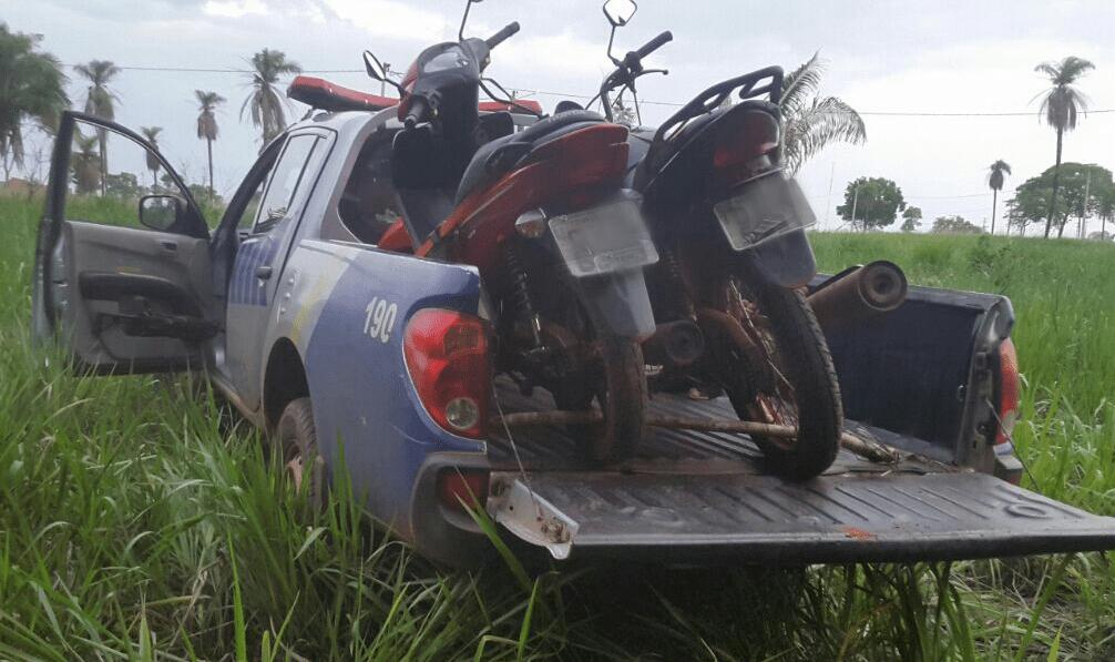 Polícia Militar recupera duas motos roubadas em Araguaína