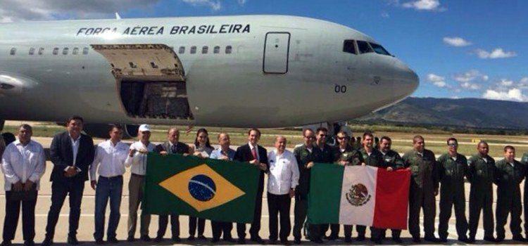 Aeronave da FAB leva doações a áreas afetadas por terremoto no México