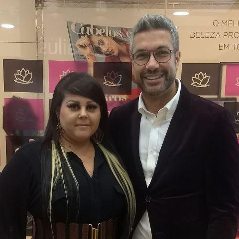 Maquiadora Juliana Talita , participa de evento em São Paulo