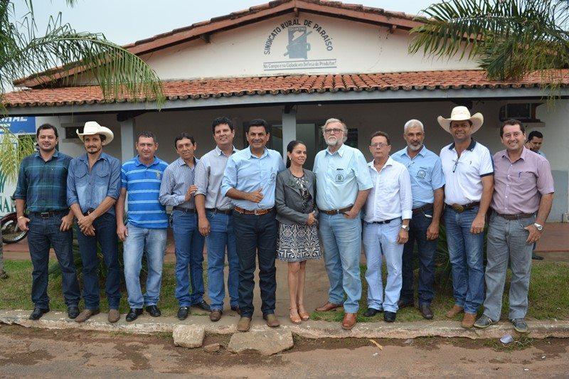 Rogério Moraes dos Reis é o novo presidente do Sindicato Rural de Paraíso