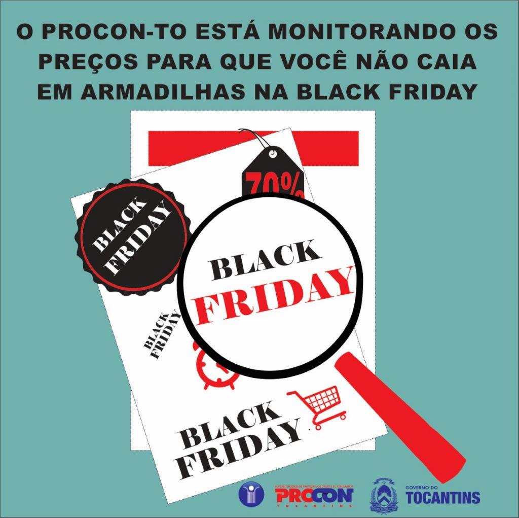 Procon/TO realiza monitoramento de  preços para evitar fraudes na Black Friday