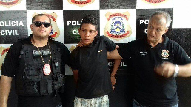 Suspeito de agredir ex com facão é preso após ameaçar família da vítima