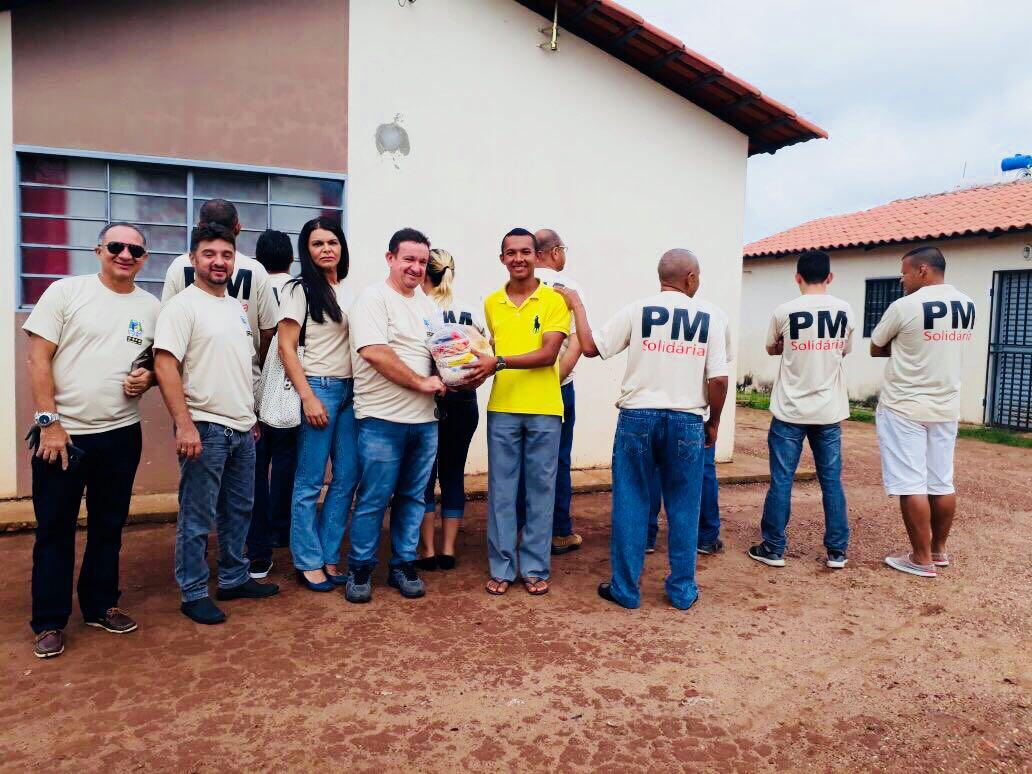 Polícia Militar realiza 2ª Edição do Projeto Polícia Solidária em Araguaína