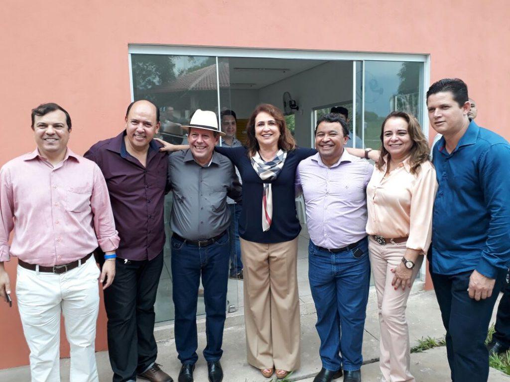 Kátia Abreu diz que poder público e sociedade devem encarrar vícios como doença, durante inauguração do Centro de Recuperação Química, em Araguaína