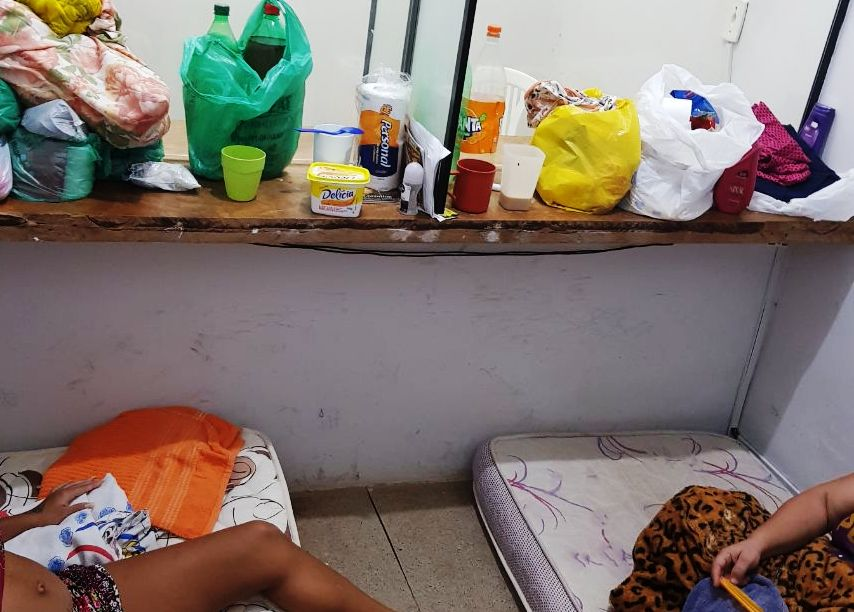 Parlatório de advogados é utilizado para o encarceramento de mulheres na CPP de Paraíso