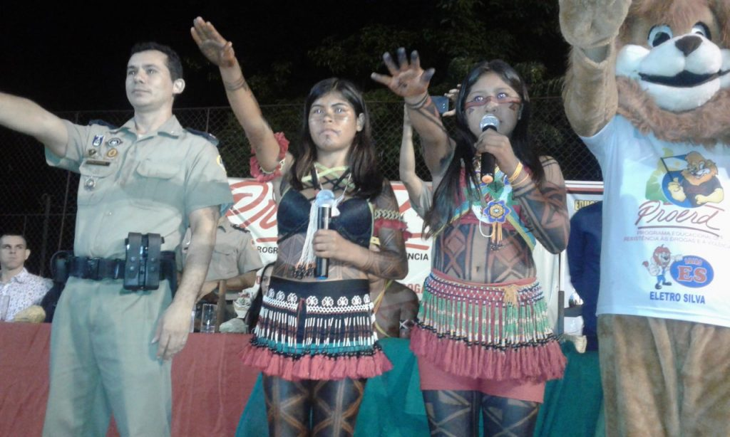 PROERD forma primeira turma de indígenas do Estado do Tocantins.