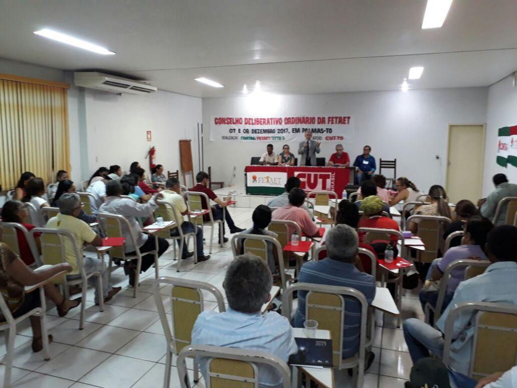 Paulo Mourão destaca conquistas do governo do PT em evento promovido pela FETAET