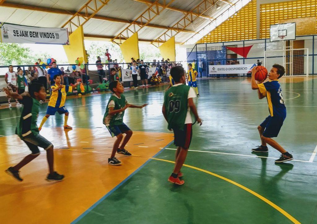 Mais de 500 atletas participam das finais dos Jogos da Integração Escolar