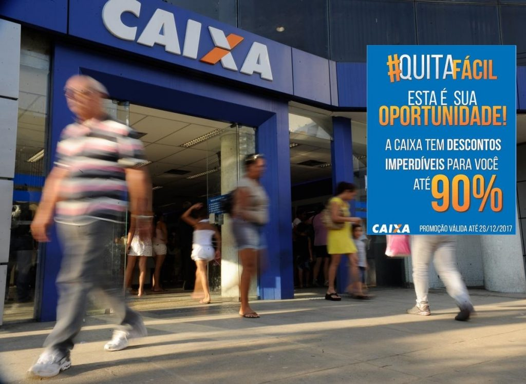 Campanha da Caixa em todo Brasil para renegociação de dívidas vale tanto para pessoas físicas como jurídicas