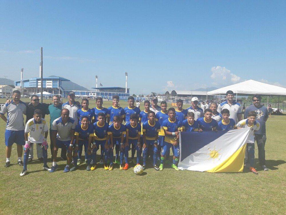 Seleção de Ouro do Tocantins estreia com goleada na Copa Floripa