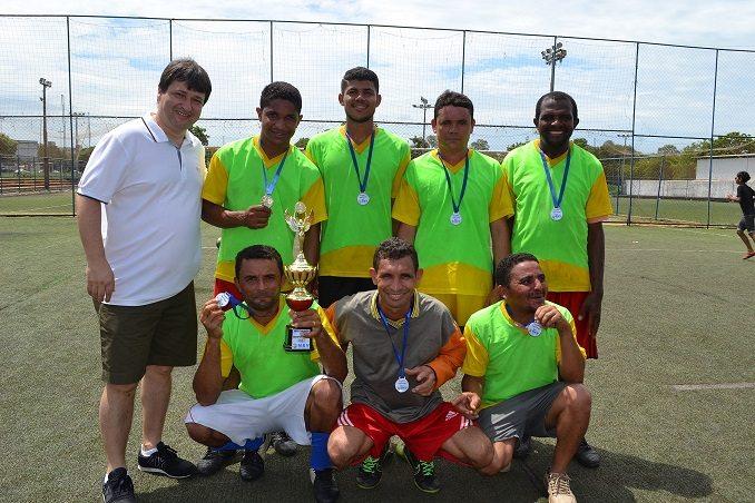 Torneio de futebol reúne colaboradores de diferentes obras da Capital