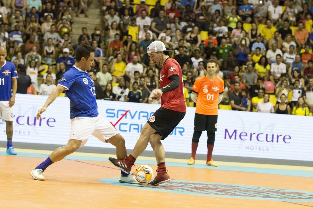 Falcão e Vinícius Júnior lideram brasileiros na terceira edição do Reis do Drible