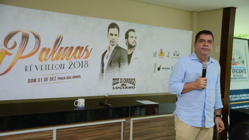 Com show de Zezé Di Camargo & Luciano, Prefeitura espera 70 mil pessoas na virada de ano na revitalizada Praia das Arnos