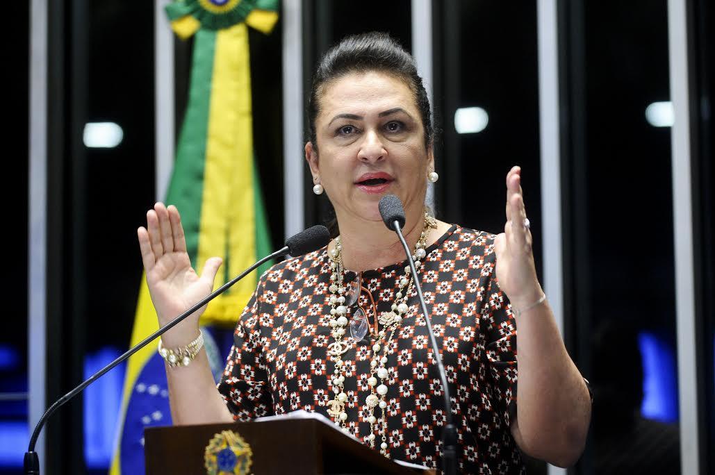 Kátia Abreu é contrária à Medida Provisória que concede R$ 120 bi em incentivos a petroleiras
