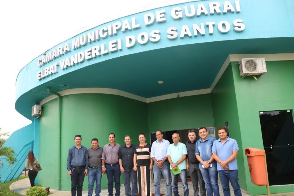 Kátia Abreu diz para vereadores que Tocantins precisa focar no crescimento com desenvolvimento social