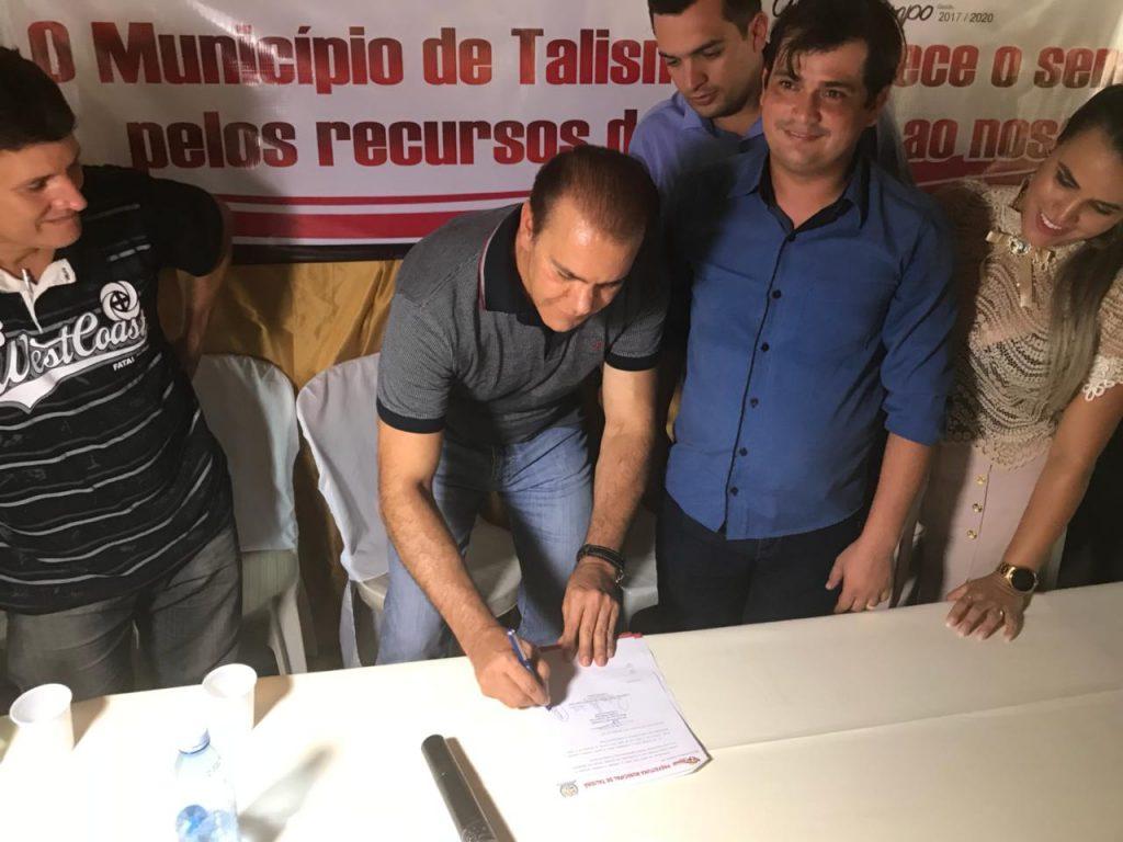 """""""A experiência que adquiri no Senado e meu conhecimento sobre gestão me dão a confiança para com o povo construir um projeto para o Tocantins"""", diz Ataídes no Sul do Estado"""