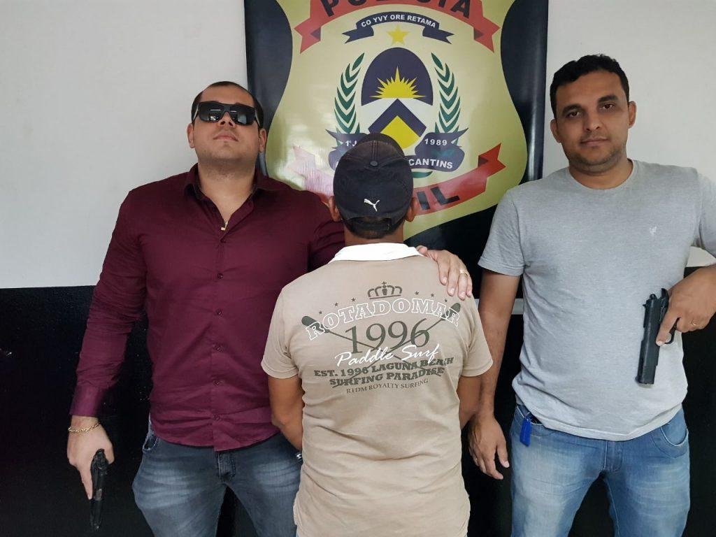 Homem suspeito de abusar sexualmente da própria enteada é preso pela Polícia Civil em Araguaína