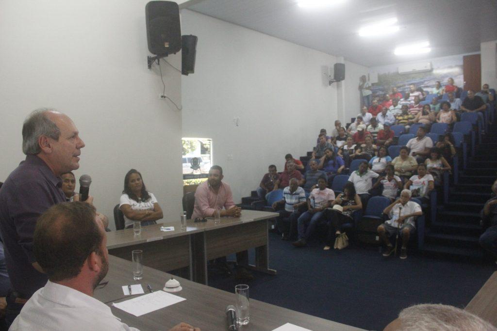 Na região Sul, Dimas recebe pedidos de municípios que não são atendidos há décadas