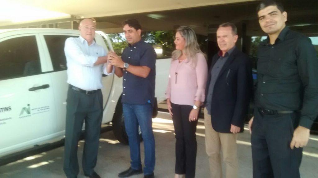 Veículo doado ao Naturatins pela Semarh vai auxiliar na fiscalização das barragens