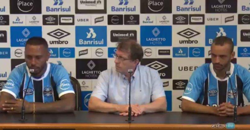 Paulo Miranda se confunde novamente e aparece para treinar no Beira-Rio