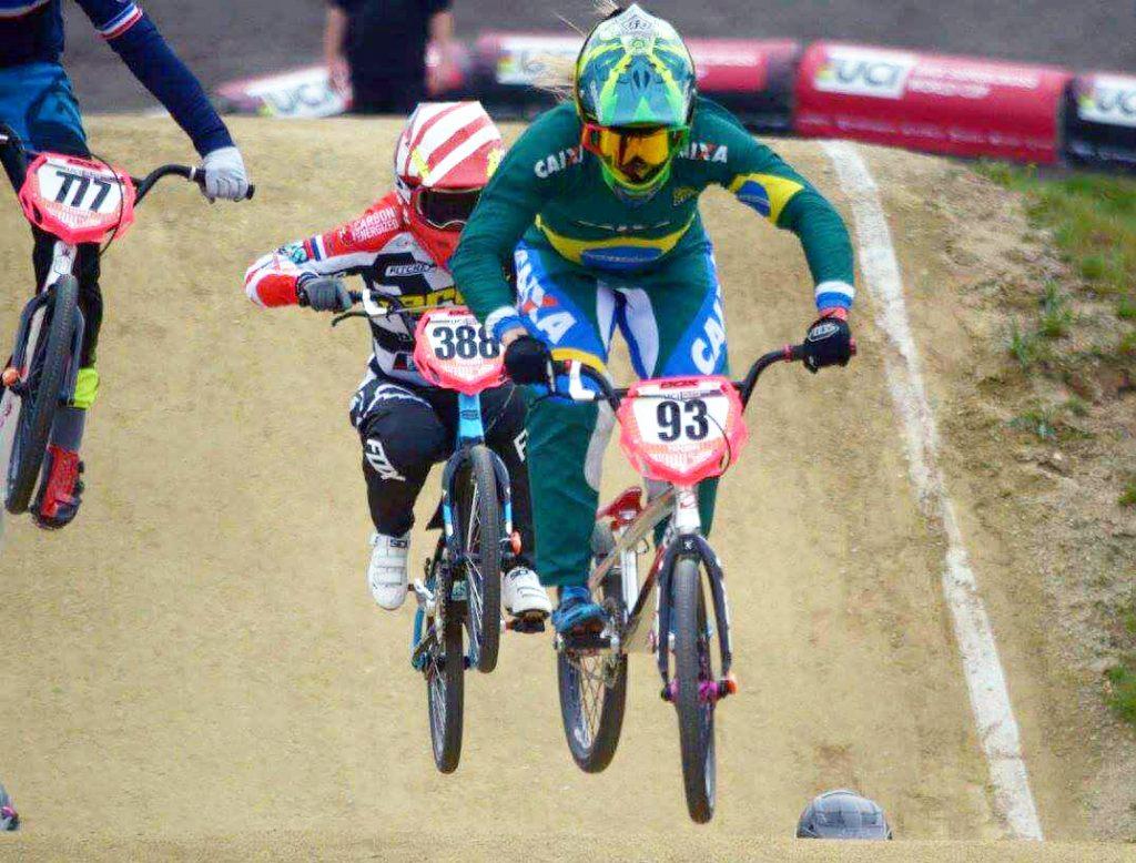 Top 8 do mundo, Priscilla Stevaux é favorita ao título da Taça Brasil de BMX em São Paulo