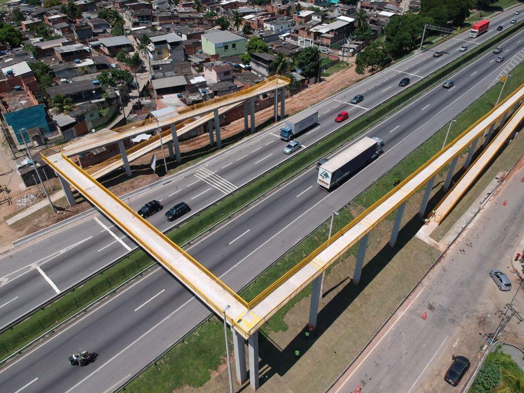 CCR NovaDutra inicia a construção de duas novas passarelas na Baixada Fluminense