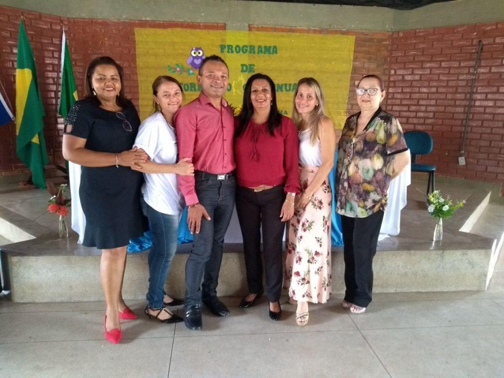 Servidores de escolas municipais de Tocantínia participam de Formação Continuada