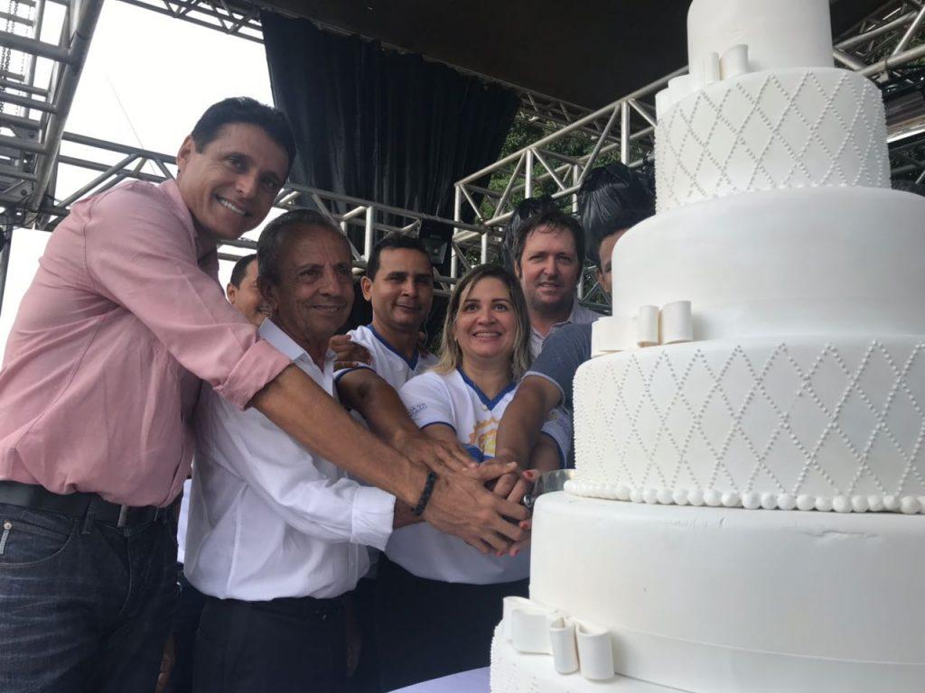 Lagoa da Confusão comemora 27 anos com desfile cívico