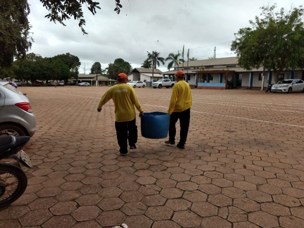 2º Batalhão de Polícia Militar recebe mais uma vez a parceria do projeto de ressocialização de apenados da Unidade de Tratamento Penal Barra da Grota em Araguaína