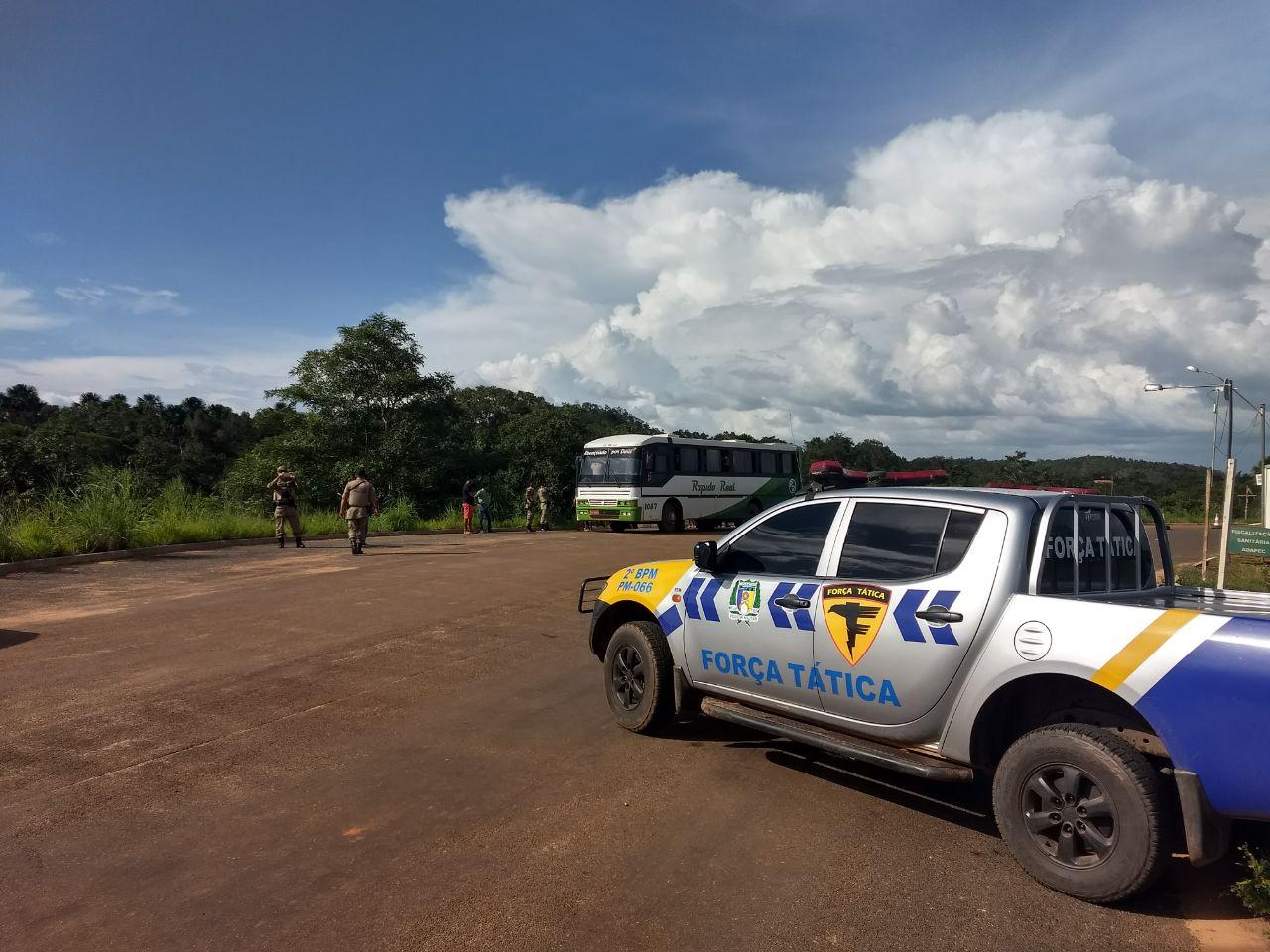 Polícia Militar realiza reforço no policiamento de Campos Lindos e realiza palestras nas escolas
